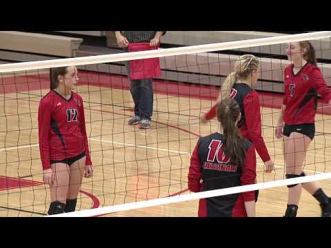 Volleyball: Spring Lake Park at Coon Rapids 10/7/14 (Full Game)