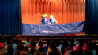 """FWES Talent Show 2014 featuring """"The Flip Turns"""""""