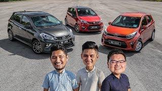 Driven 2018: Perodua Myvi vs Proton Iriz vs Kia Picanto - review in Malaysia