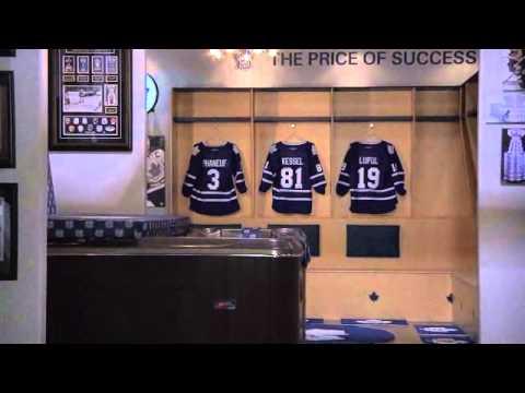 Hockey Fan Cave Toronto Feature By Jackie Morra YouTube