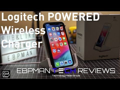 Logitech's POWERED Wireless Charging For IPhone Review | The Best Charger For Your IPhone XS Max?