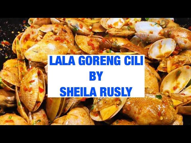 Resepi Lala Goreng Cili By Sheila Rusly Youtube