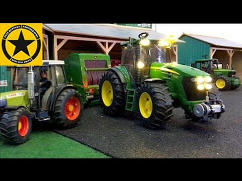 Bruder Toys Tractors For Children Farm World All Machinery In Long
