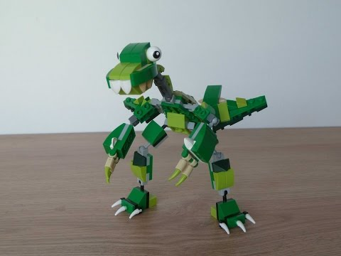 Lego Mixels Series 10 Dinosaurz Max Moc Instructions Youtube