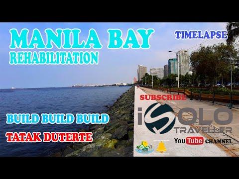 TIMELAPSE - MANILA BAY REHABILITATION, BATTLE FOR MANILA BAY, NEW MANILA BAY, MANILA BAY