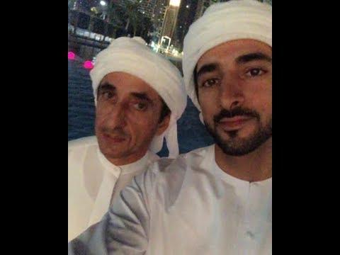 Sheikh Hamdan Fazza Live Broadcasting With Uncle Saeed At Burj Khalifa