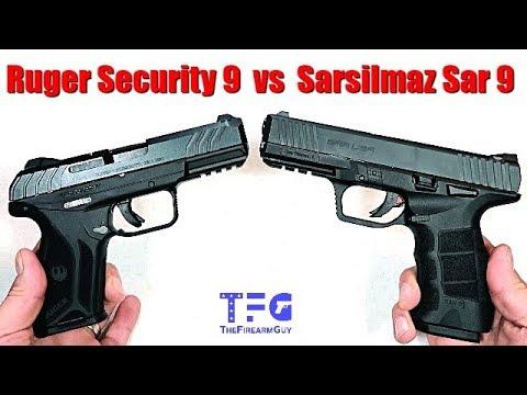 Ruger Security 9 vs Sarsilmaz Sar 9 - TheFireArmGuy