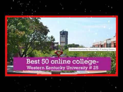 Best 50 online college in usa   Western Kentucky University # 25