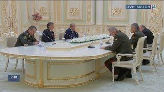 Президент ҳузурида қабул