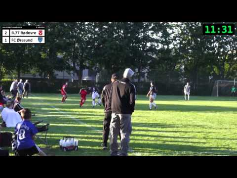 B77 Rødovre  FC Øresund  DBU Pokalkamp 27052014  2. hal