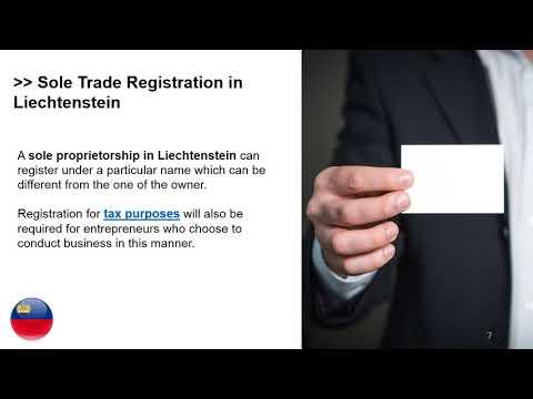 Setting up a Sole Trader in Liechtenstein