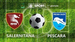 Salernitana - pescara 3-1