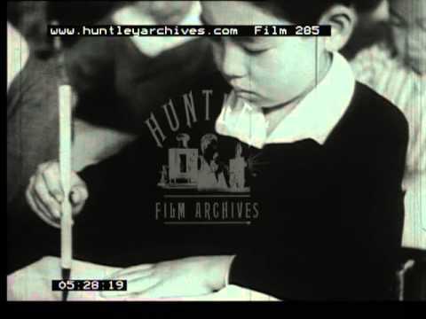 Japanese children in the 1940's -- Film 285