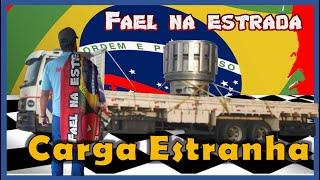 Fael na Estrada - Curitiba PR x Guaíba RS carga estranha