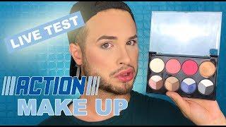 Make Up für 1 € ! | ACTION LIVE TEST | Maxim Giacomo