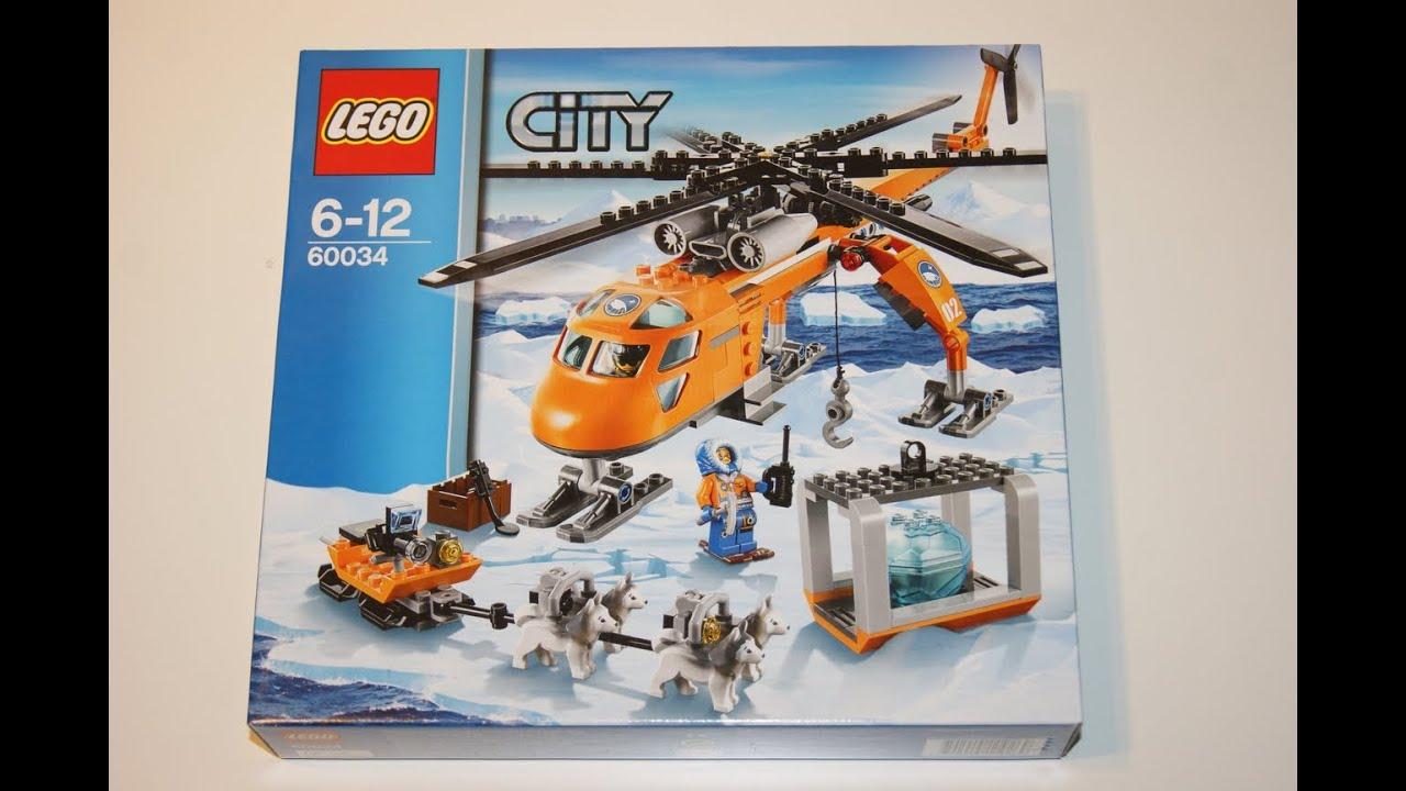 Lego city 2014 60034 arctic helicrane