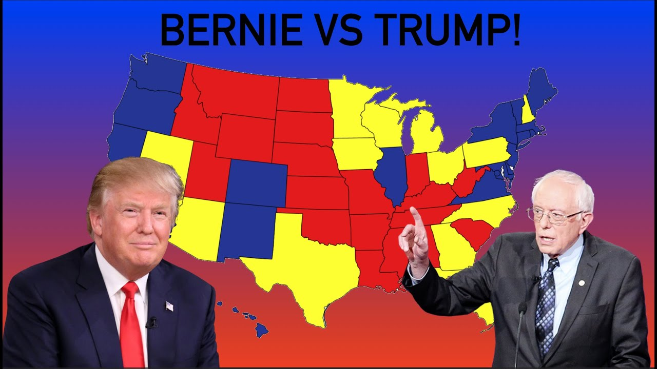 Bernie Sanders vs Donald Trump 2020 Election Prediction | DOES TRUMP CRUSH BERNIE?