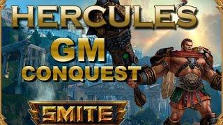 SMITE! Hercules, Solo lane? no creo...! GM Conquest #4