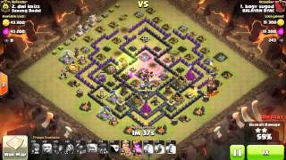 Clash of Clans Indonesia SARUNG BODOL (COC) - Easy TROOP TH 10 ATTACK TH 9 3 Stars #201