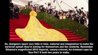 Everything It Really Takes to Get Ready for the Met Gala