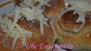 Cooking | How to make Ensaymada using bread machine