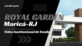 Tour Virtual- Lançamento do Condomínio Royal Garden- Maricá-RJ