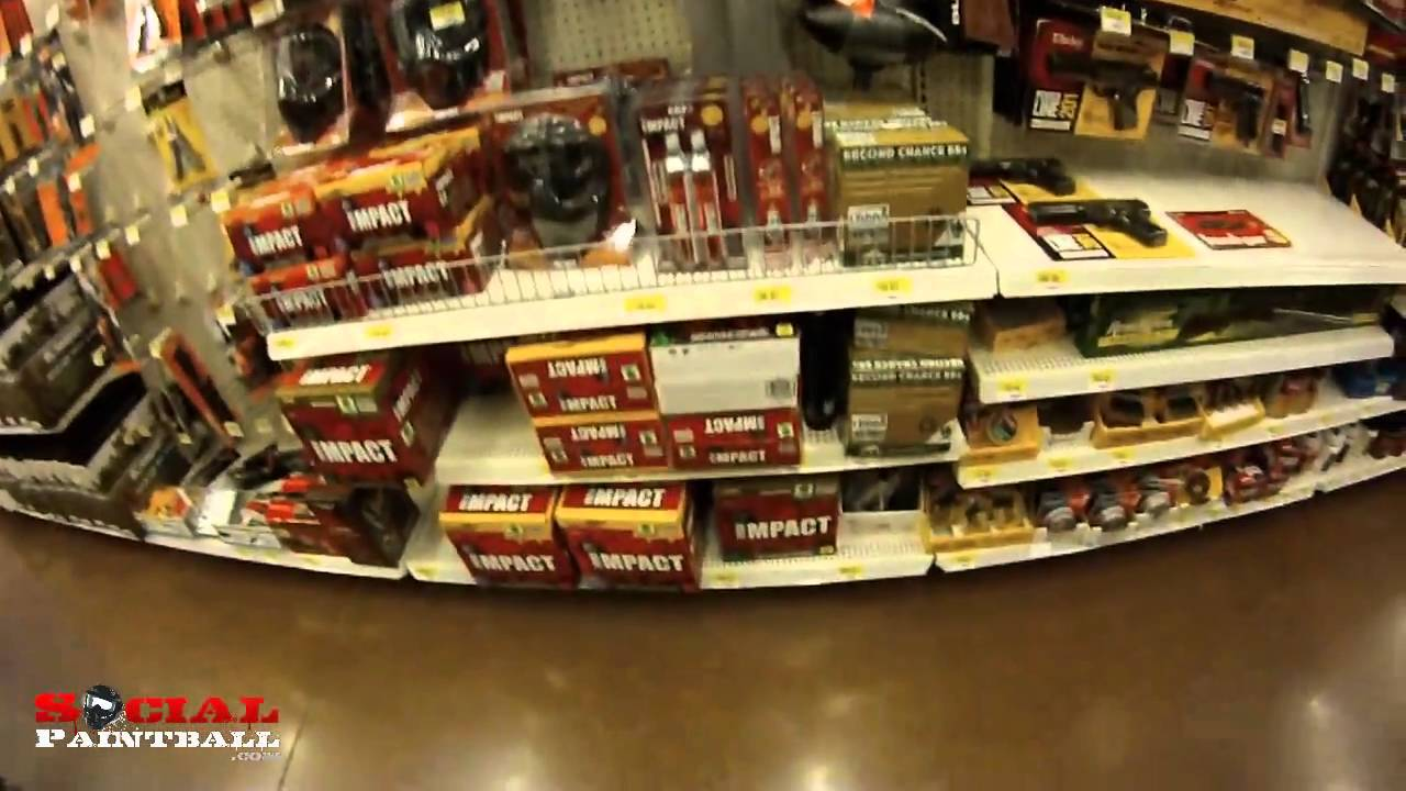 Wal Mart S Paintball Guns Markers And Paintball Section Part Deux 2011 Youtube