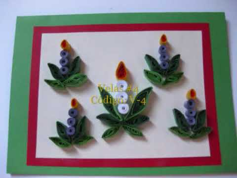 Tarjetas de navidad youtube for Cosas artesanales para navidad
