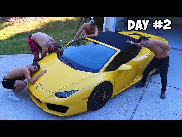 Last To Remove Hand, Gets Lamborghini Challenge
