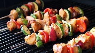 Recipe - Marinated Teriyaki Chicken Kabobs