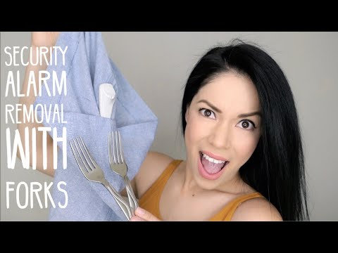 DIY: Security Alarm Removal (with forks)