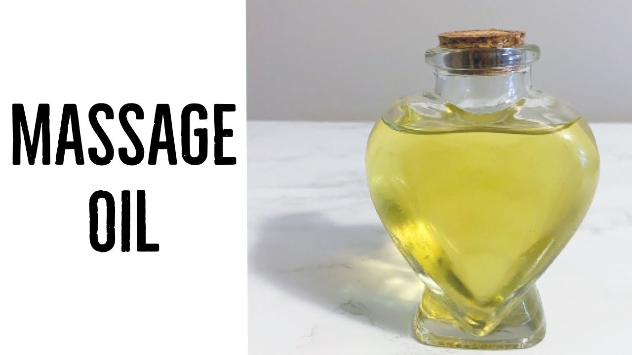 How To Make Sensual Massage Oil