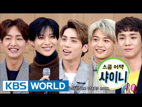 School attack with SHINee [Entertainment Weekly / 2016 10 17