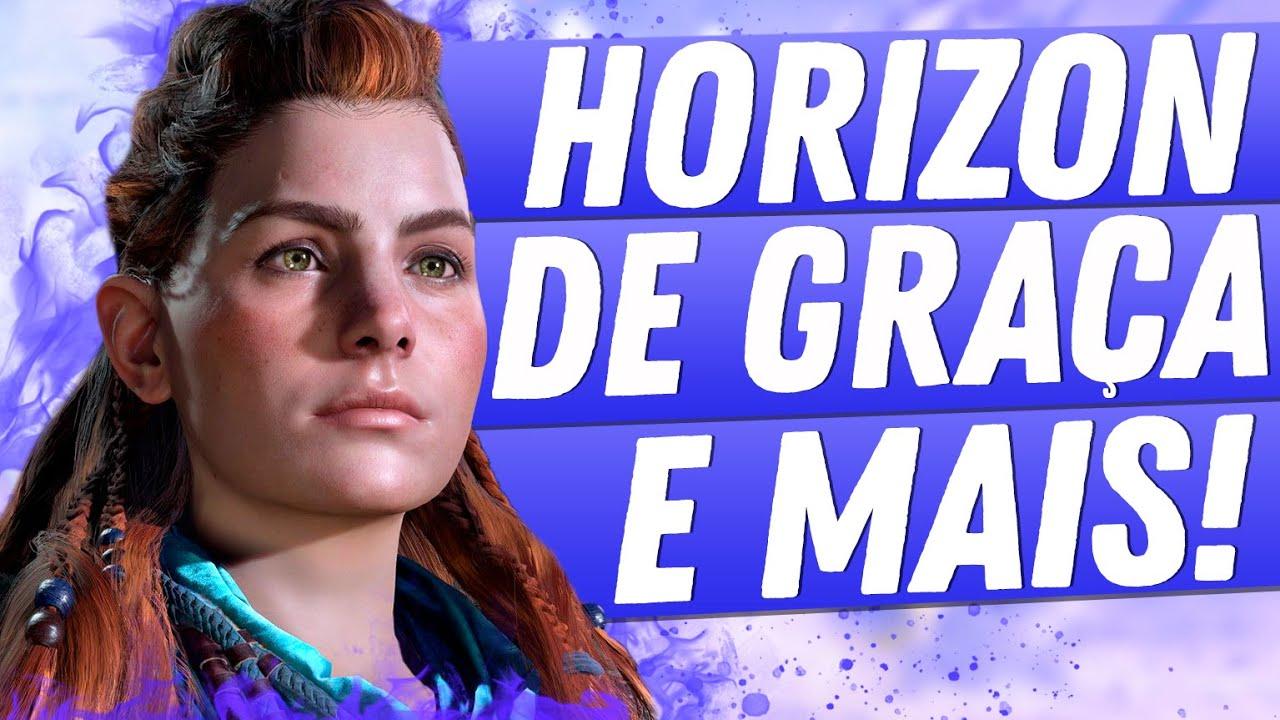 EITA! Sony vai dar Horizon Zero Dawn DE GRAÇA e mais 9 jogos para TODO MUNDO, veja os DETALHES!