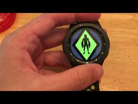 Omnitrix App Updated For Samsung Gear S3