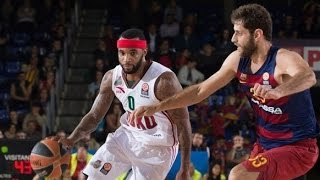 Malcolm Delaney 18 Pts 4 Asts Full Highlights vs FCB Barcelona Lasa (12.11.15) choked!
