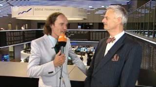 Olaf Schubert an der Börse