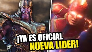 ¡ES OFICIAL! Capitana Marvel será la nueva líder de los Vengadores