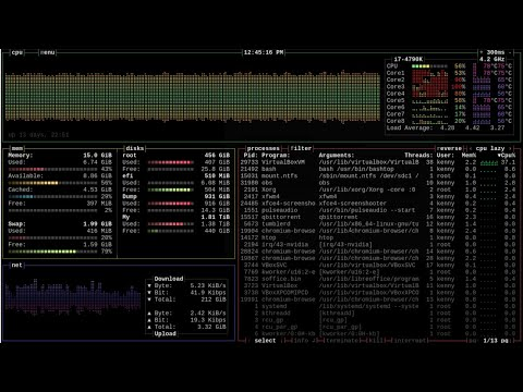 bashtop---a-nice-process-manager-written-in-bash-script