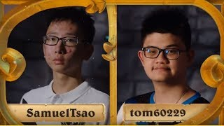 [ES] SamuelTsao vs tom60229 - HCT World Championship Quarterfinals
