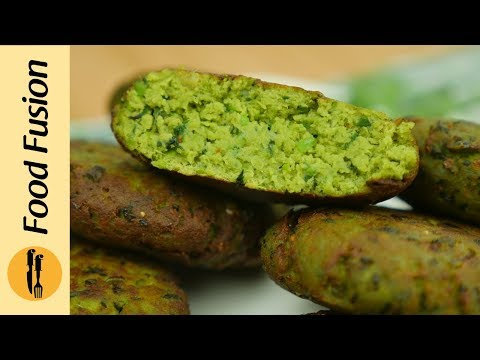 Hara Bhara Kabab | Hare Bhare Chicken Kebab Recipe By Food Fusion