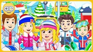 My City горнолыжный курорт Май Сити Новая игра для детей Ski Resort от My Town Games