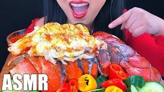 ASMR GIANT Seafood Boil Lobster Tail Cooking and Eating Recipe