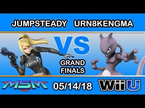 MSM 146 - Jumpsteady (Zero Suit) Vs. Urn8kedGrandma (Mewtwo) Grand Finals - Smash 4