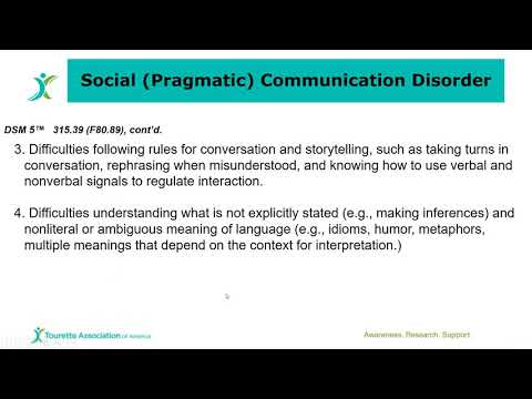 Introduction To Social Communication Disorder