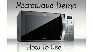 Microwave Demo IFB 25SC4 | Electro Mall