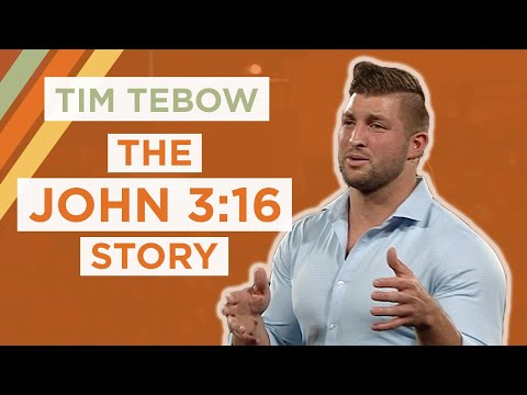 The John 3:16 Story | Tim Tebow