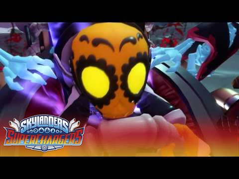 Giveaway Skylanders SuperChargers + Kaos Costumes | Mommy Katie