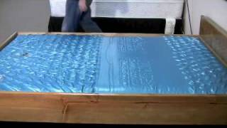 Waterbed Mattress LS 7127 Wave Test