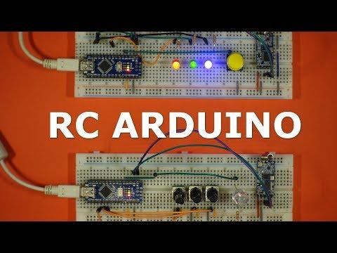 Библиотека для организации радиосвязи на Arduino